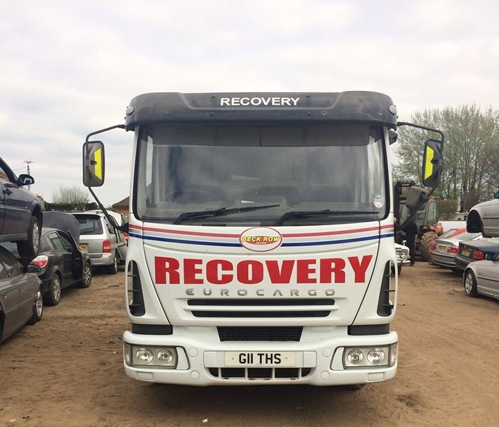 Beck Row Dismantlers Ltd - Recovery Truck